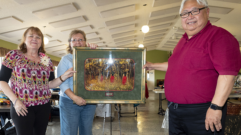 'I could have been one of these women': Red Dress cross-stitch a work of love and support
