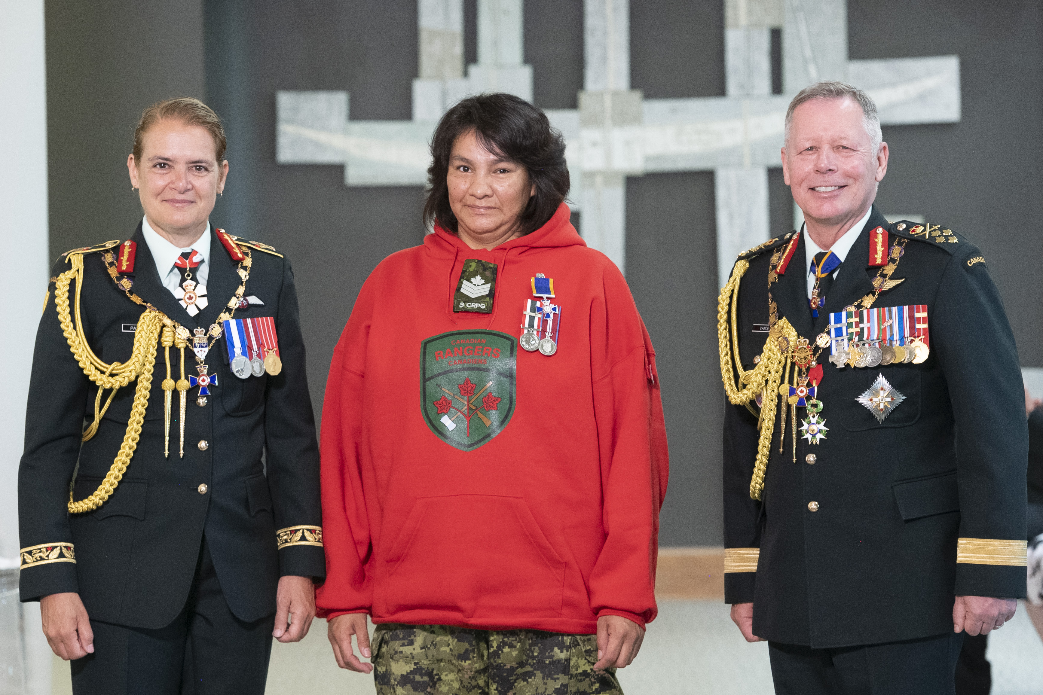 Canadian Ranger receives high military honour