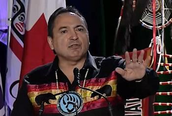 National Chief Perry Bellegarde