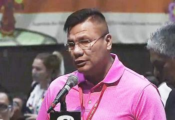 Opaskwayak Cree Nation Chief Christian Sinclair