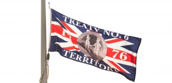 Treaty 6 flag
