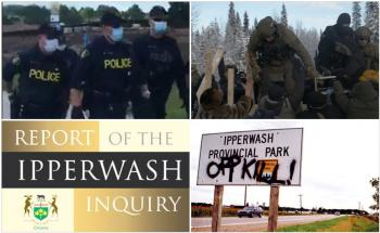 graphic for Ipperwash story two