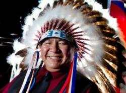 Tsuut'ina Nation Chief Lee Crowchild