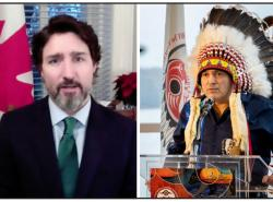 Trudeau and Bellegarde