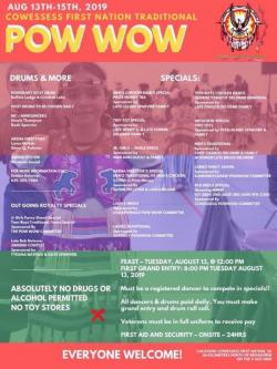 Cowessess First Nation Traditional Powwow 2019
