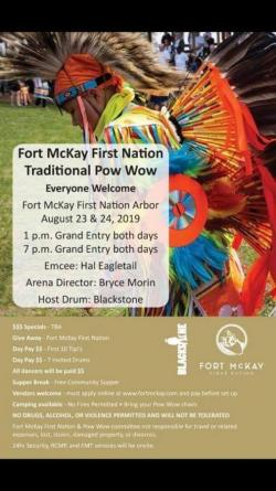 Fort McKay First Nation Traditional Powwow 2019