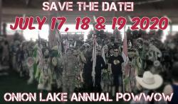 Onion Lake save the date