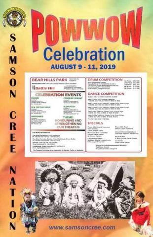 Samson Cree Nation Powwow Celebration 2019