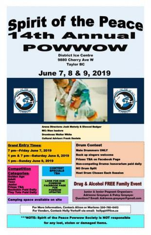 Spirit of the Peace 14th Annual Powwow