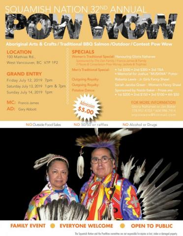 Squamish Nation 32nd Annual Powwow