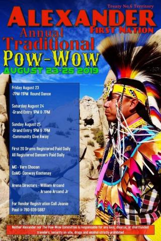 Alexander First Nation Annual Traditional Powwow 2019