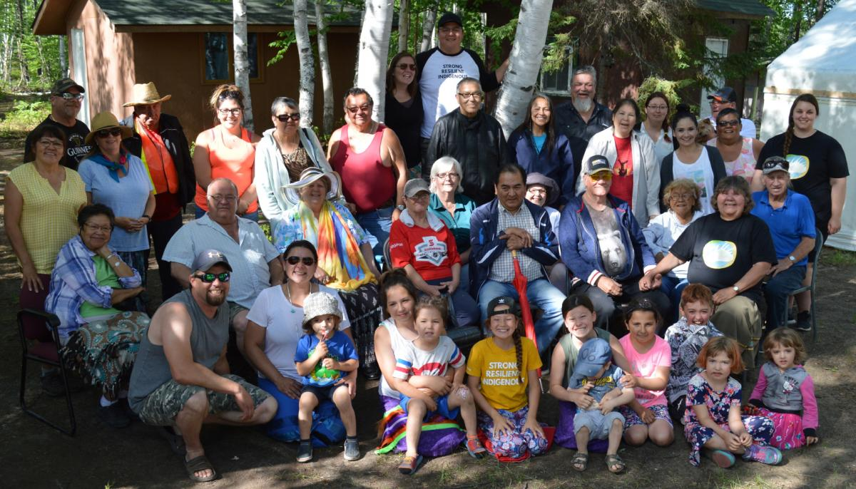 Indigenous language gathering held at Dorothy Lake