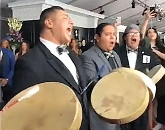 Grammy red carpet sensation signed by talent agency