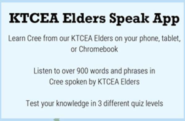 Elders' land-based approach helped guide development of new Cree language app