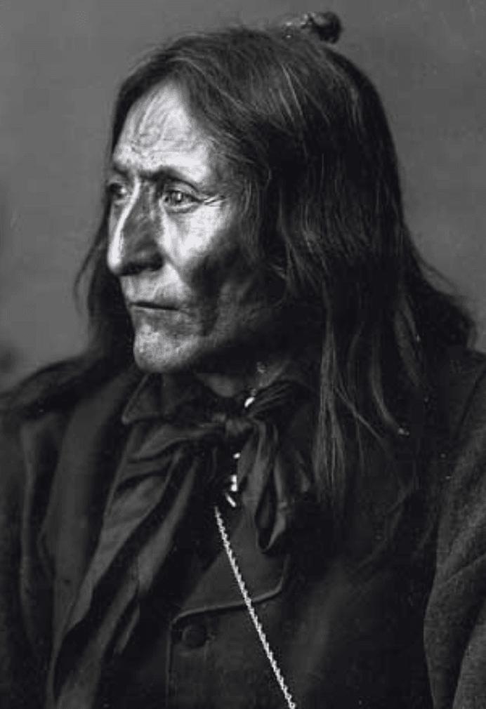 Crowfoot Chief of the Blackfeet