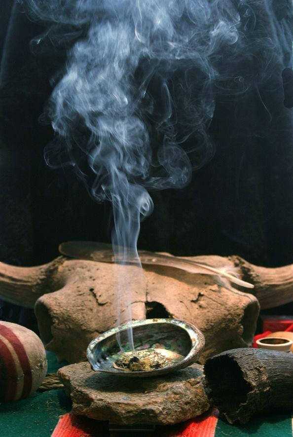 Gifts from the Creator for man's use: The smudging ceremony